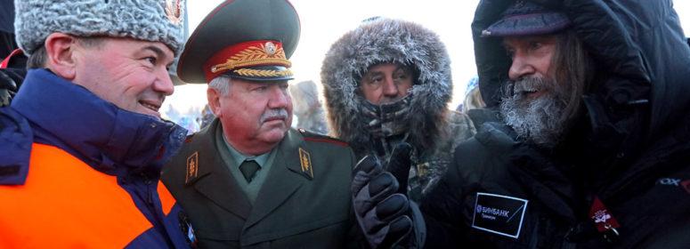 Федор Конюхов и Иван Меняйло пошли на полёт на тепловом аэростате