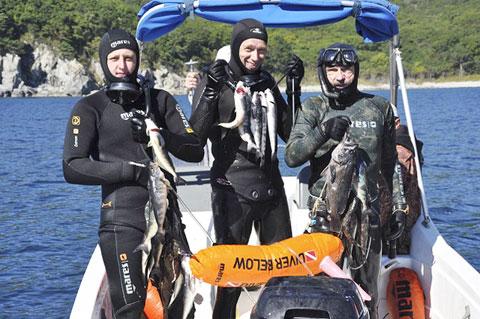 Секция подводной охоты. Ярославль