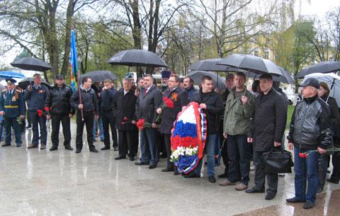 Митинг в память о людях, погибших в Одессе в Доме профсоюзов.