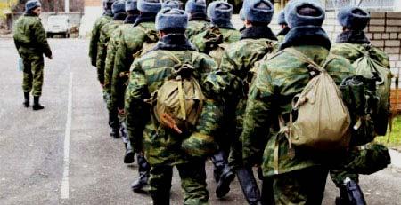 Осенний призыв на военную службу. 2014