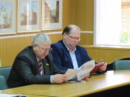 Председатель Регионального отделения ДОСААФ России Ярославской области С.А.Дерепко принял участие в работе заседания.