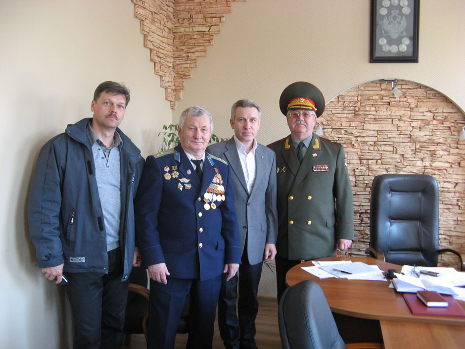 Рабочее совещание с Главой Даниловского муниципального района