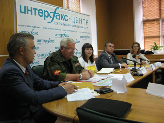 Пресс-конференция, посвящённая предстоящему проведению Фестиваля технических видов спорта «Техноспорт»