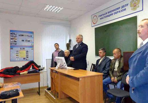 Подготовка специалистов по ВУС. Открытие учебного года