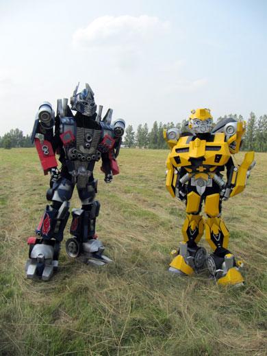 Представители робототехники
