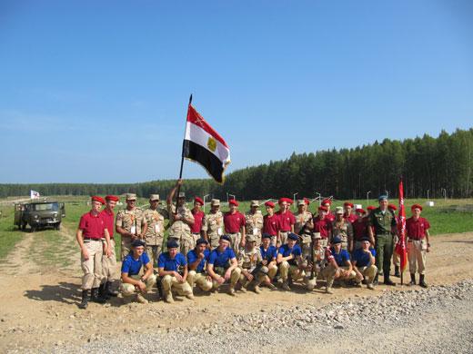 ВПК ДОСААФ России с командой Египта