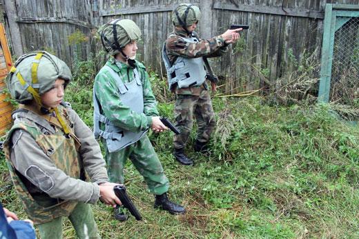 3. Военно-тактическая игра в рамках Урока