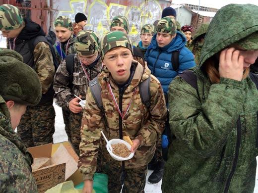 Солдатский обед