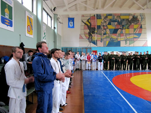 открытый турнир по Армейскому рукопашному бою
