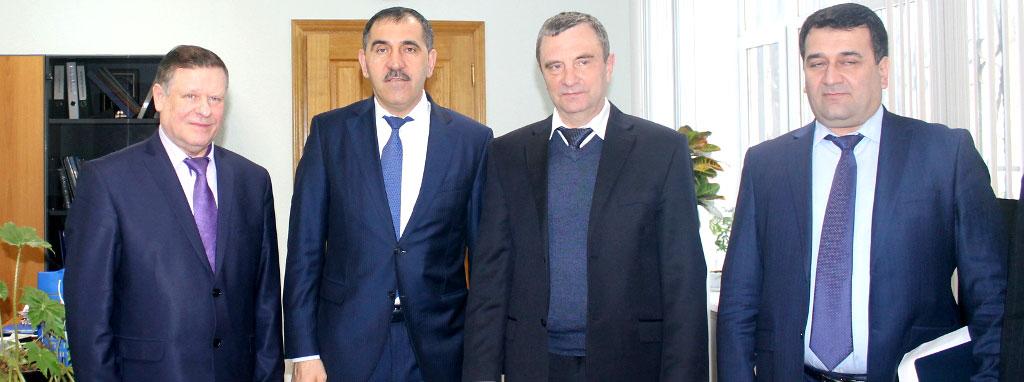 Председатель ДОСААФ России встретился с главой Республики Ингушетия