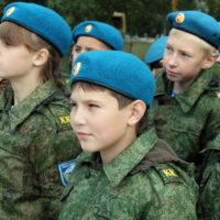 Ряды ЮНАРМИИ пополнили 64 кадета