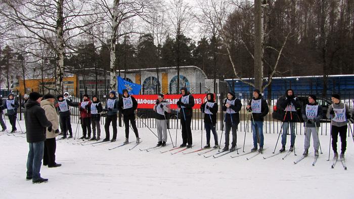 Лыжная гонка в Ярославской ОТШ ДОСААФ России