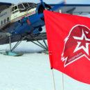 28 парашютных прыжков накануне выборов президента России