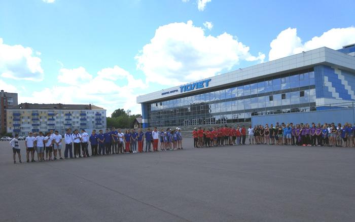 Соревнования по морскому многоборью в Рыбинске
