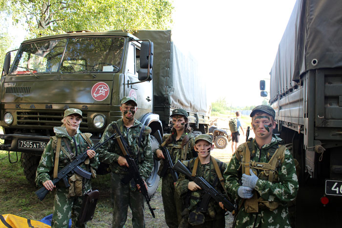 Закончился межрегиональный военно-патриотический лагерь «ПОИСК-2018»
