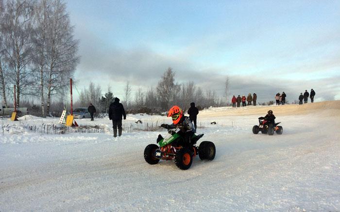 Открытие зимнего сезона по мотоциклетному спорту