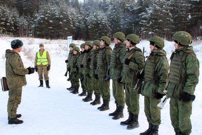 Плановые боевые стрельбы РО ВВПОД «ЮНАРМИЯ»